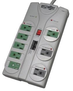 Tripp Lite 8 Outlet  Surge Protector Power Strip, 8ft Cord,