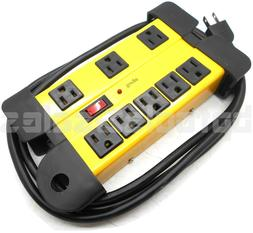 8 power strip surge protector