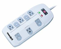 Fellowes 8-Outlet Superior Surge Protector, 6 Foot Cord, 2,1