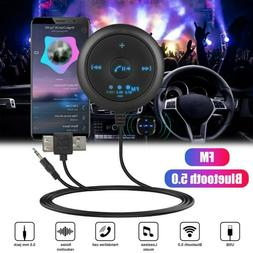 AUX-in Bluetooth Wireless Receiver Adapter FM Kit For Car St