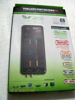 Monster Core Power Surge-Protector MP EXP 800G, 8 Outlets W/