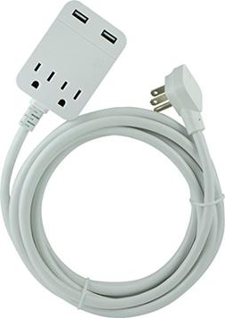 12FT EXTENSION CORD WHT