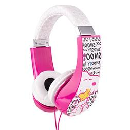 Peanuts HP2-03080 Kid Safe Over-The-Ear Headphone with Volum