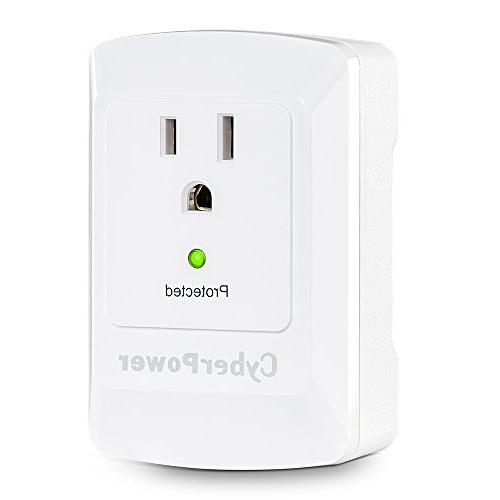 CyberPower Protector, 900J/125V, Wall Tap
