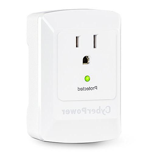 CyberPower Essential Protector, 900J/125V, 1 Outlet, Wall