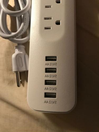 BRAND NEW Witeem Protector Smart - 6 Outlets