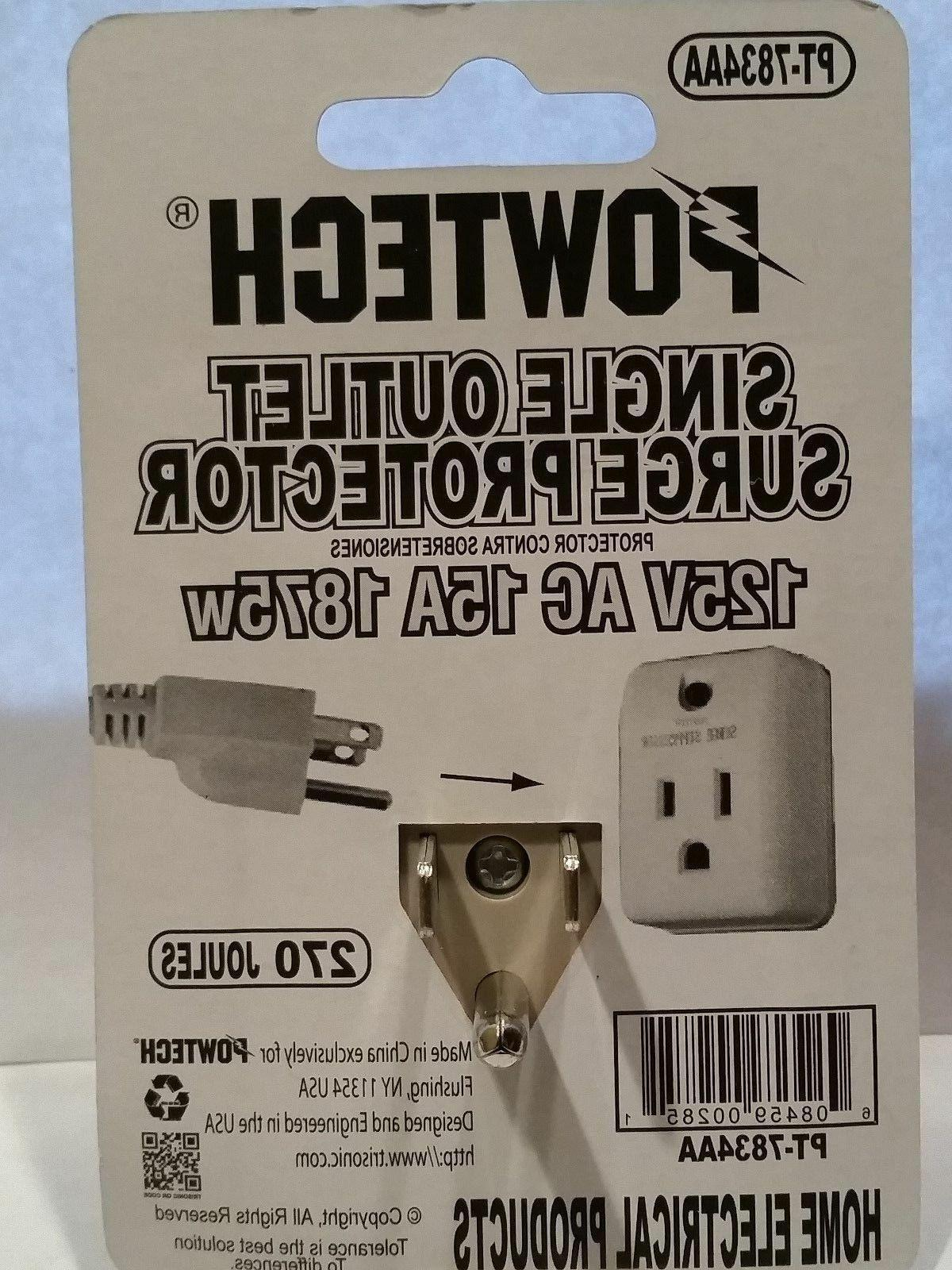 New pack outlet protector power