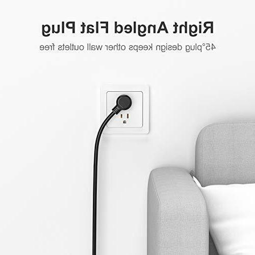 Surge Protector Ports, Witeem 5 and USB 5V