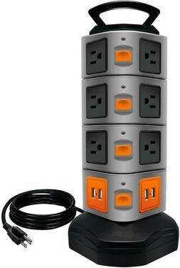 Power Strip Tower Lovin Surge Protector Electric Charging St