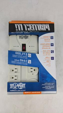 TRIPP LITE PROTECT IT 8-Outlet BLOCK Surge Protector TLP808
