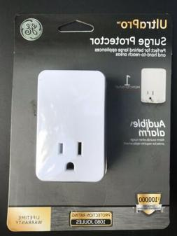 GE Surge Protector perfect for behind large appliances,AUDIB