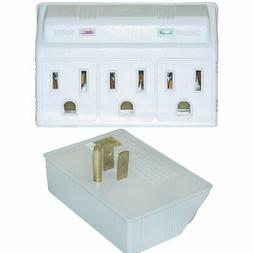 Surge Protector, 3 Outlet, MOV 270 Joules LED Power Indicato