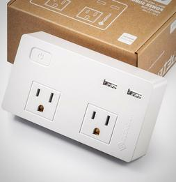 Etekcity Surge Protector Wall Mount 2 Outlets 2 USB Charging