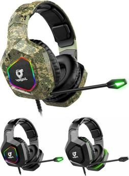 Soulion Tracer 25 Gaming Headset for PS4 Xbox One PC, Stereo