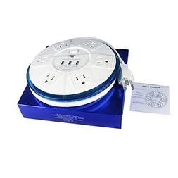 TP UFO 6-Outlet Power Strip Surge Protector  EMI-/RFI-Filter