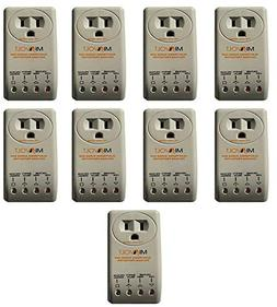 9-Pack Voltage Protector Brownout Surge Refrigerator 1800 Wa